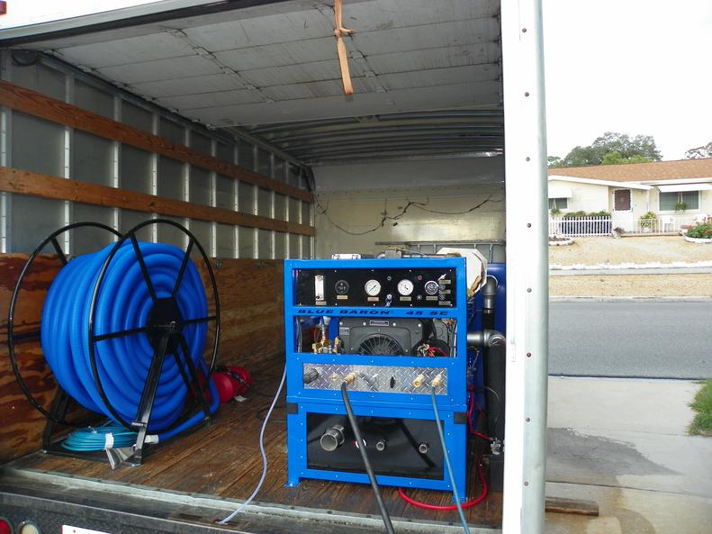 truck mounted carpet cleaning machine for sale